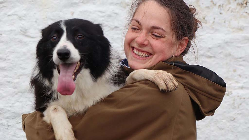 SHEEPDOG SPECIAL: A dog with the 'full package' can make you feel invincible