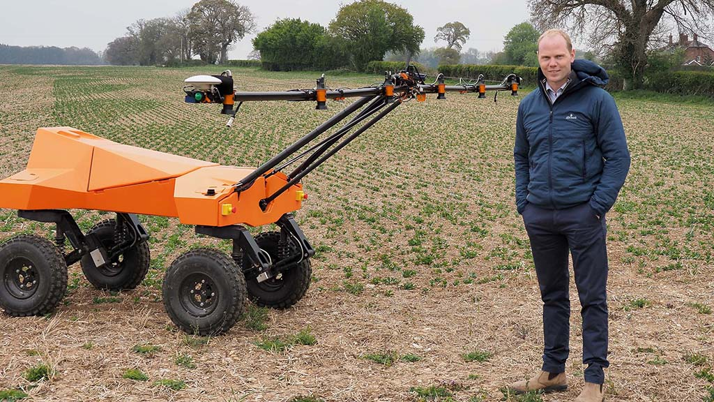 Farmers look to robots for guidance