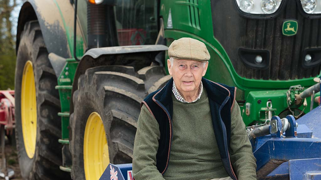 Life on a wartime farm - 'who would run the farm if my father had to go to war?'