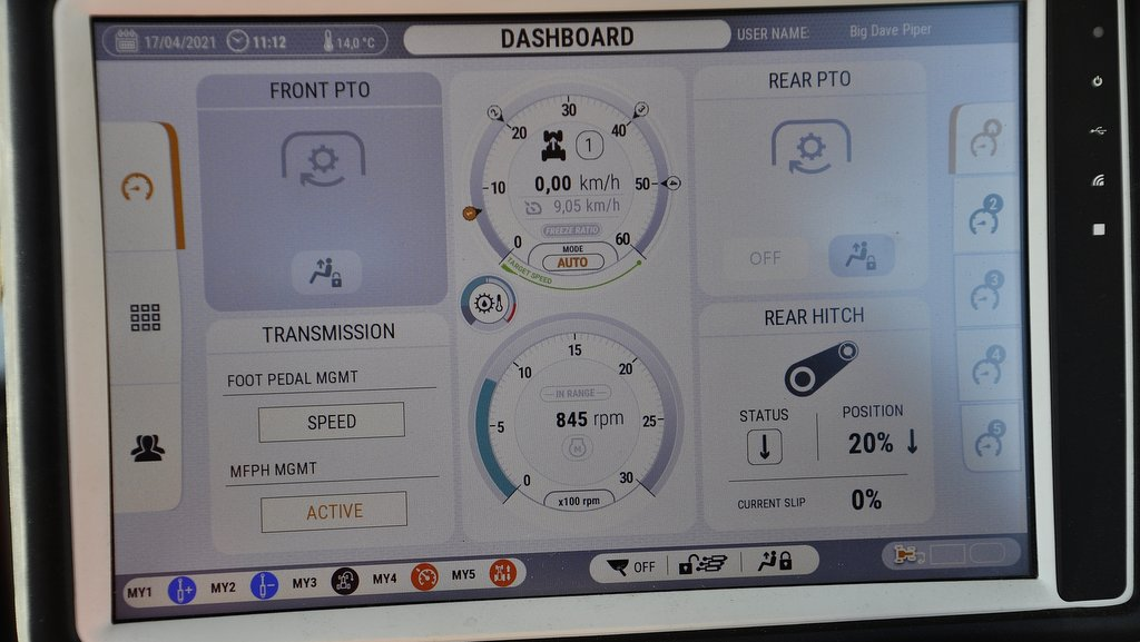 """""""The DSM has been updated so it is more user-friendly and more logical to navigate. There is also a new set-up screen which makes it easier to make on the move adjustments,"""" says Dave Piper."""
