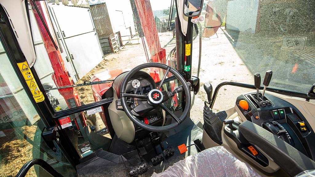 Cab and controls 1