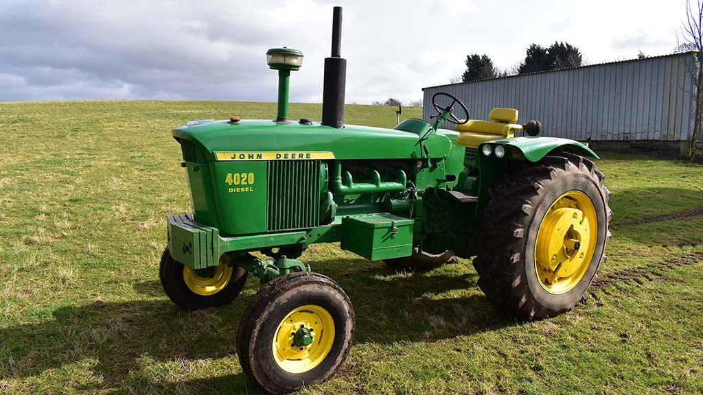 At £16,800 was this John Deere 4020.