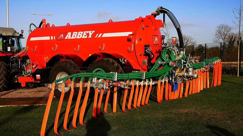Abbey Machinery's Band Spreader