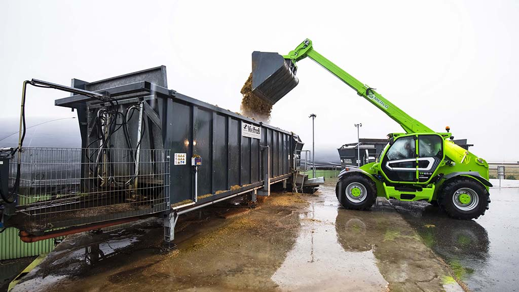 Merlo adds to its lineup with telehandler designed for heavy duty applications