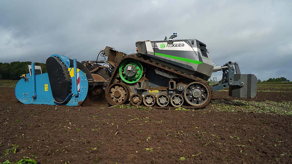 Claas acquires stake in autonomous tractor start-up AgXeed