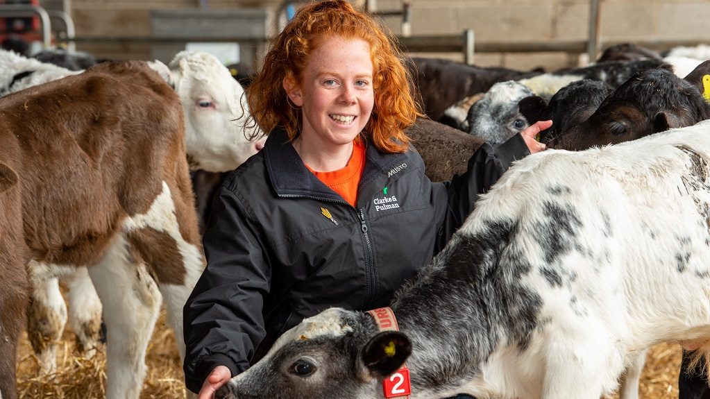 In your field: Amy Wilkinson - 'I didn't always want to work on farm, but now I would not do anything else'