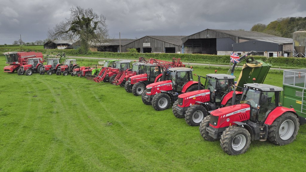 Farming with classics: Keeping it red with working collection of Massey Ferguson tractors