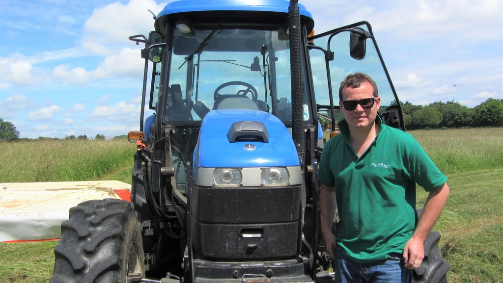 Adam Keene's company Agricision launched the award winning onTrak GPS guidance system in 2017. The system was developed from an idea he had while studying at Reading University.
