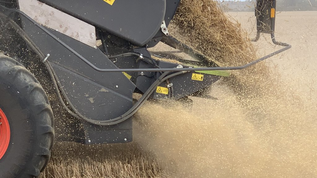 HJ Fairs and Son trialled the Seed Terminator, marketed by Zurn UK, last year to gauge its impact on weed control in crops with limited herbicide options.