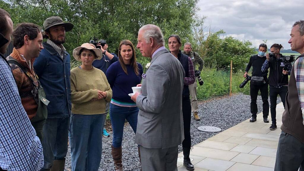 Prince Charles 'full of admiration' for sustainable food producers