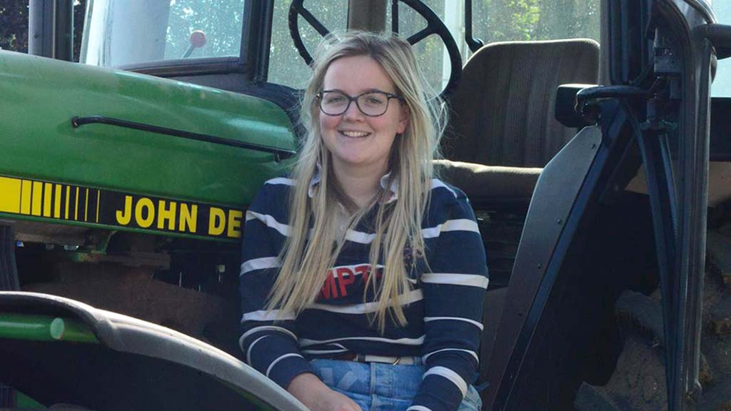 Young farmer focus: Eveey Hunter - 'There is a lot to be gained from learning by doing'