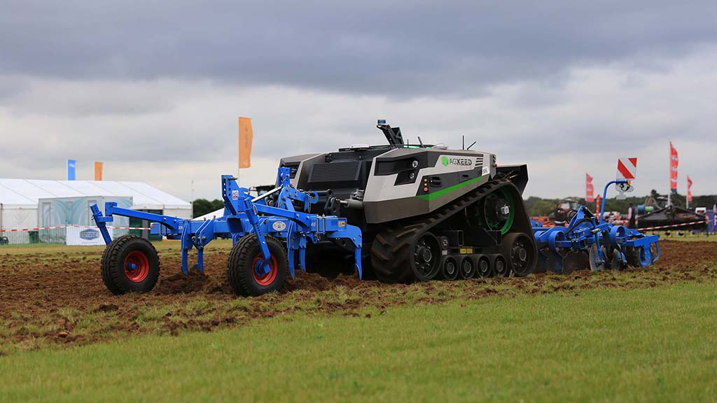 AgXeed AgBot autonomous tractor