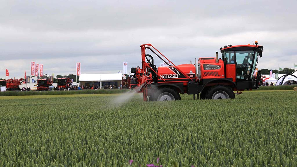 New machinery out in force at Cereals 2021