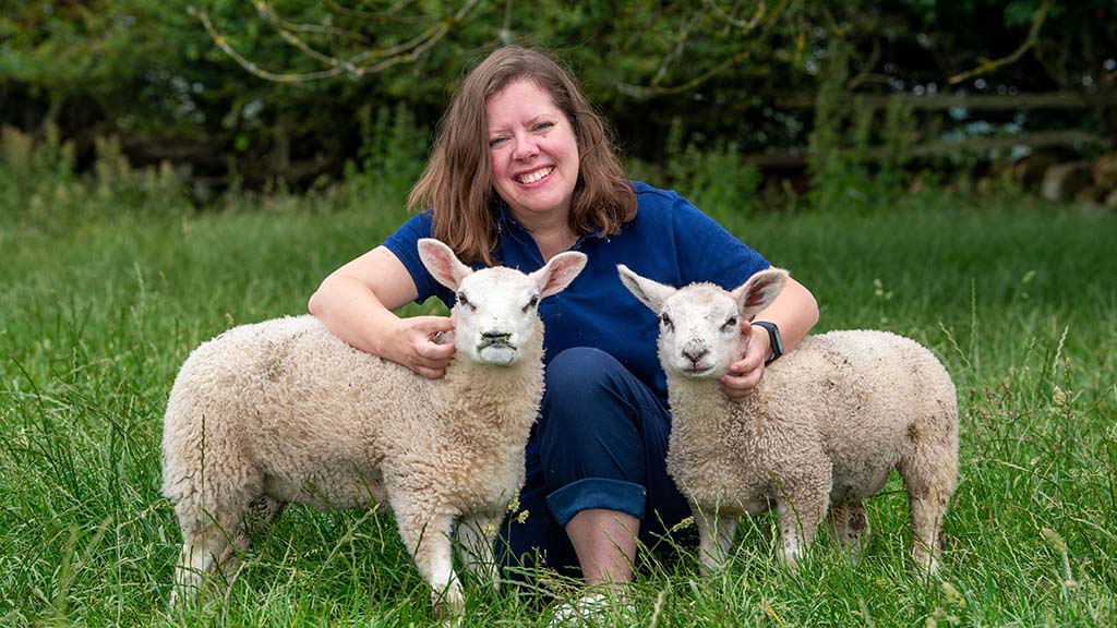 Sally Urwin on finding her farming feet - 'It's not just moving into a job; it's moving into a farming family'