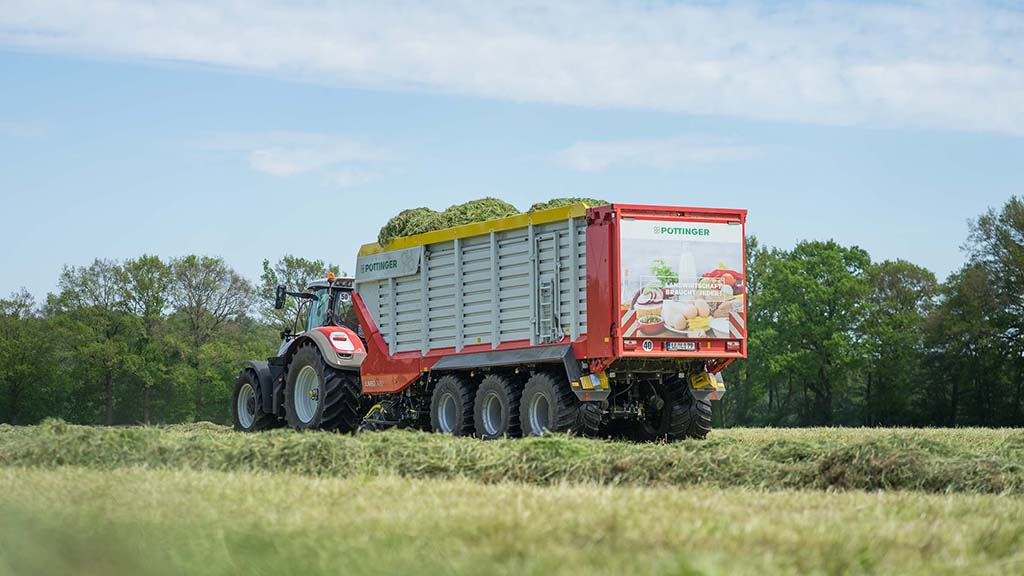 Pottinger launches forage wagons capable of handling tractors of up to 500hp