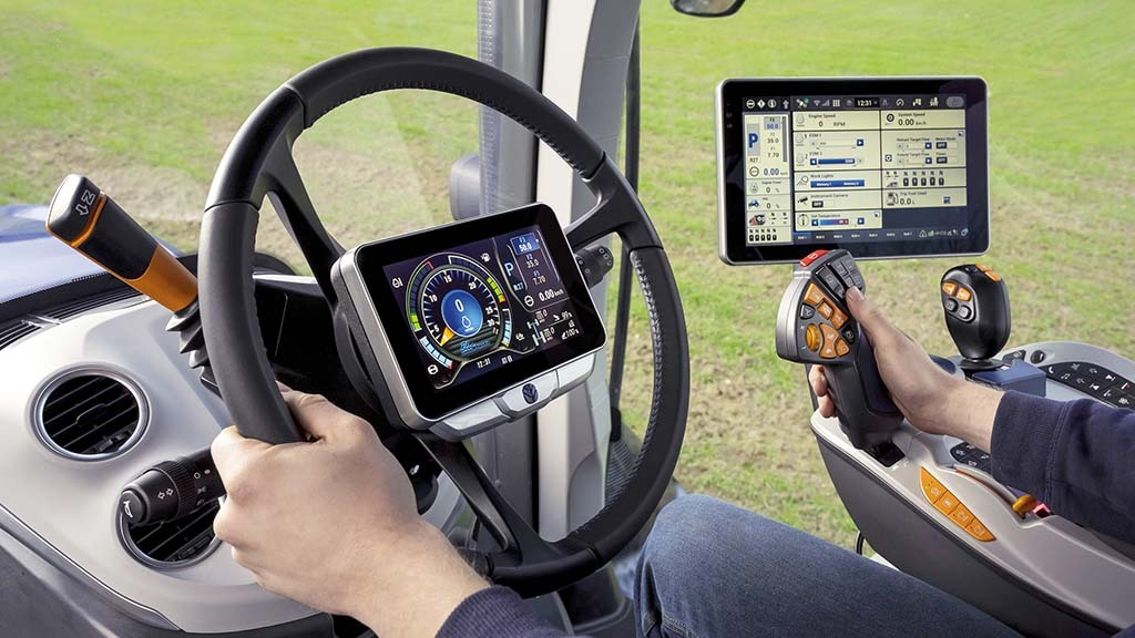 New Holland updates T7 HD tractors with new cab offering more space, refinement and technology