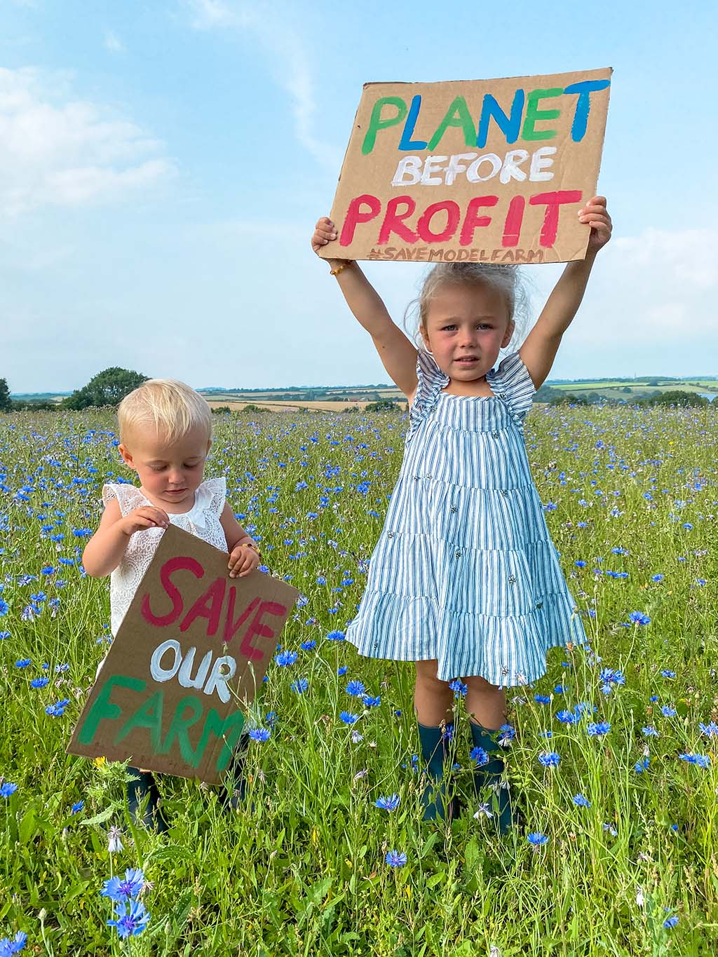 Family fights to save farm from landlord's development plans
