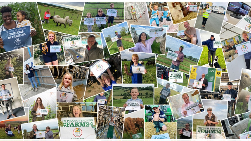 Farming industry unites to bring #Farm24 to the masses