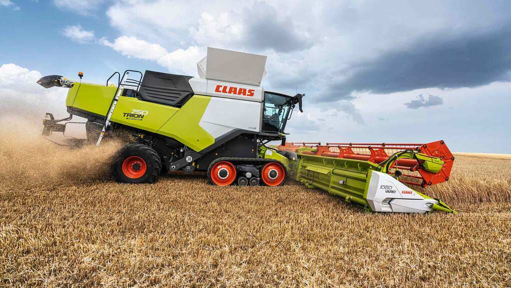Claas launch Trion combine range, featuring new name, cab and panels but familiar components