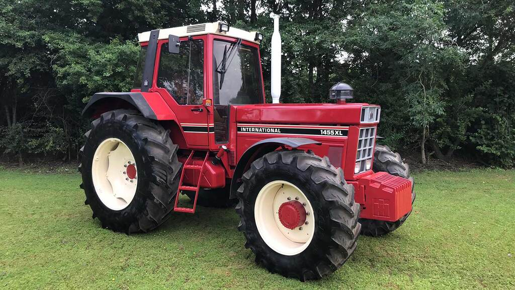 Cheffins reports sustained demand for vintage and classic tractors