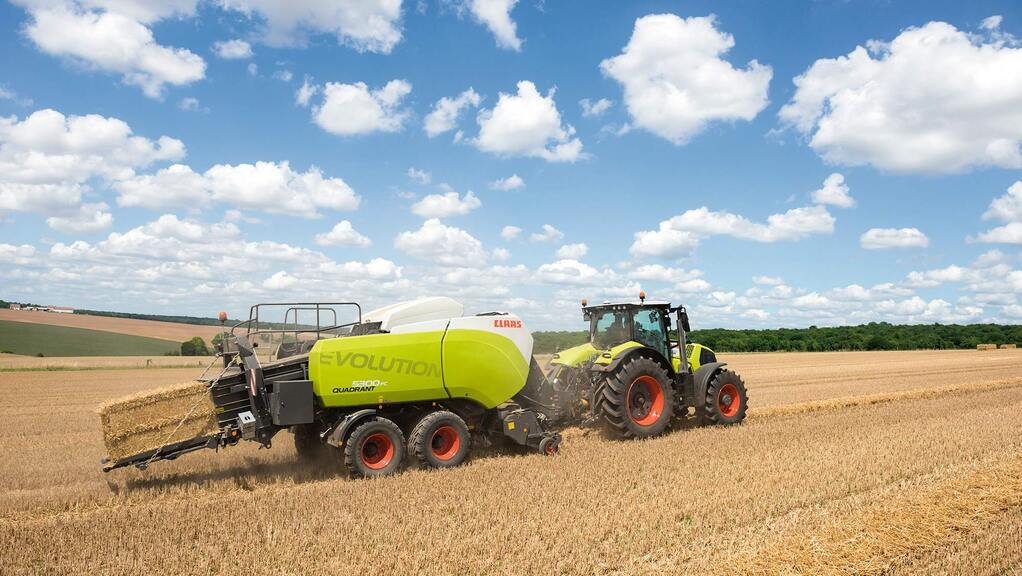 Evolutionary updates for Claas Quadrant large square balers