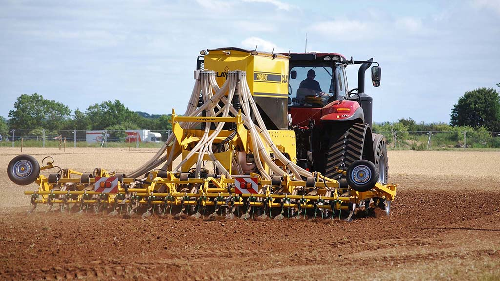 The rise of Claydon from combines to cultivators to drills as the company celebrates 40 years in business