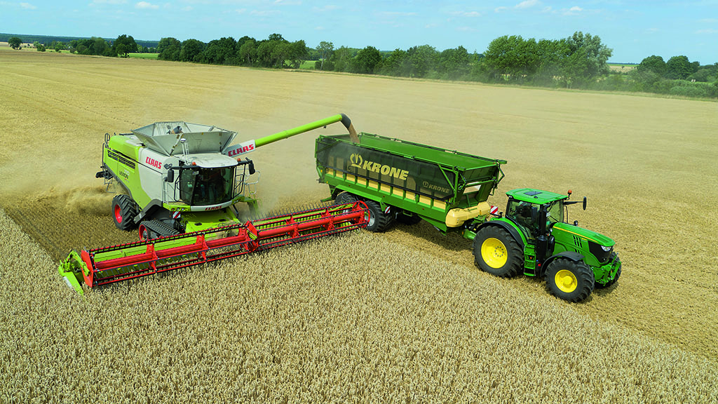 Krone launches gentle handling GX range of trailers for bulk applications