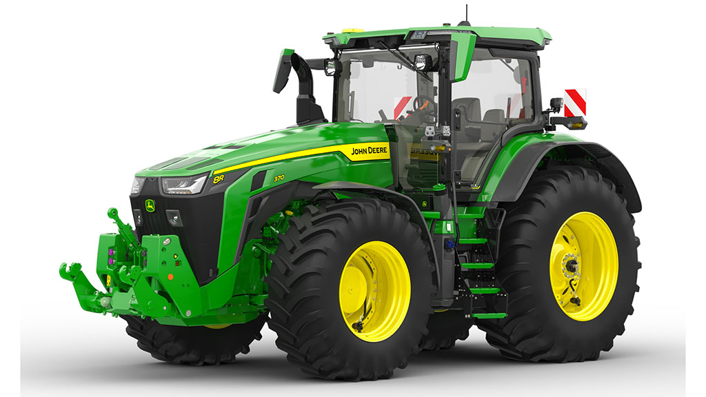Central tyre inflation system added to John Deere's option list for 8R Series tractors