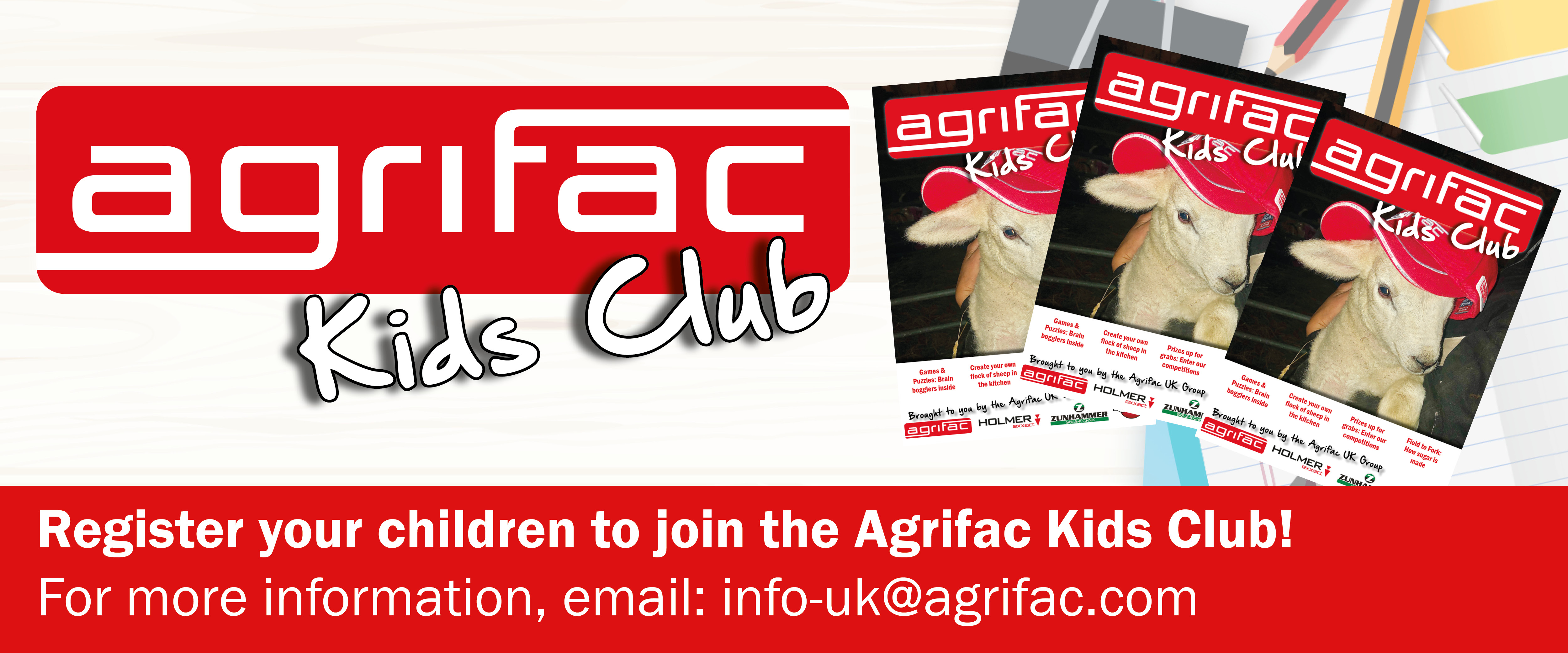 Join the Agrifac kids club